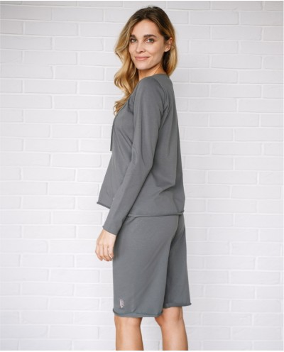 TIME TO BED organic cotton sporty style trousers