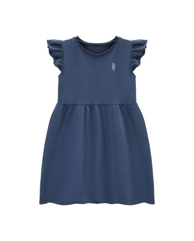 BUTTERFLY organic cotton dress for girls