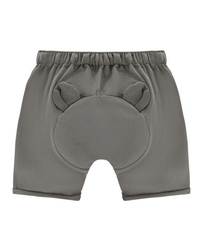 Teddybear organic cotton shorts for kids