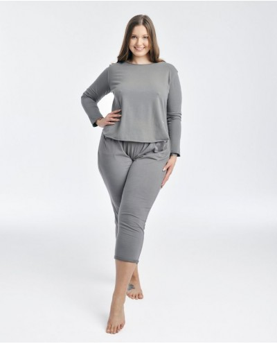 piżama TIME TO MORNING COFFEE plus size